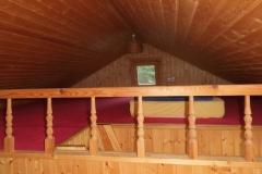 Schlafmöglichkeit im Dachgeschoss