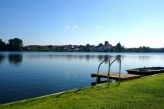 Blick auf den Lychener Stadtsee